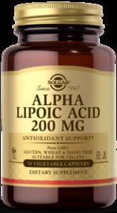 Solgar Alpha Lipoic Acid 200 mg