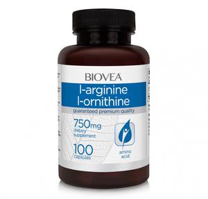 L-Arginine / L-Ornithine (750 mg)