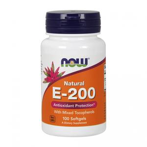 Natural Vitamin E-200 100 caps.