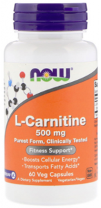 NOW Carnitine 500 mg