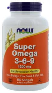 NOW Super Omega 3-6-9 1200 mg