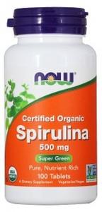 NOW Spirulina 500 мг